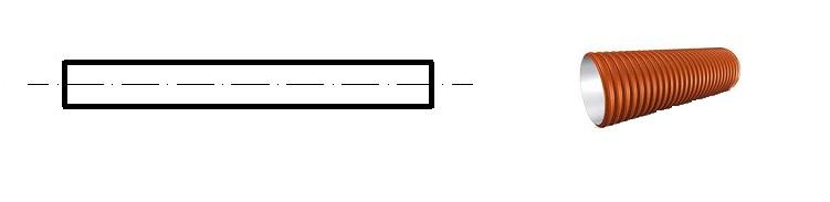 Труба полимерная для наружной канализации ГОСТ Р 54475-2011