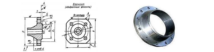 Фланцы стальные ГОСТ 12815-80