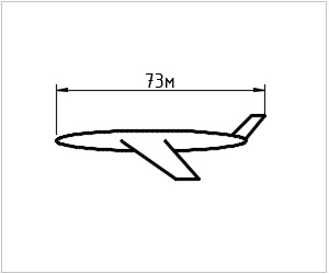 обозначение аэробуса на чертеже