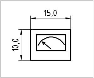 обозначение аппаратуры на чертеже