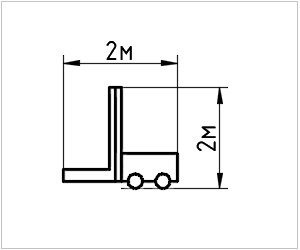 обозначение автопогрузчика на чертеже