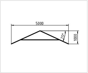 обозначение крыши на чертеже