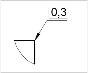 обозначение кромки на чертеже