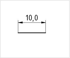 обозначение линии на чертеже
