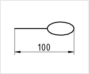 обозначение ложки на чертеже