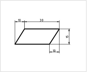 обозначение параллелограмма на чертеже