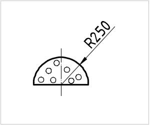 обозначение сыра на чертеже