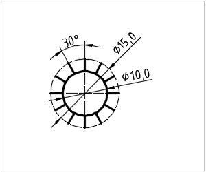 обозначение звезды на чертеже